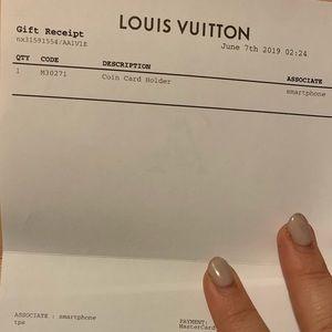 Louis Vuitton Bags - NWT Louis Vuitton Coin Card Holder